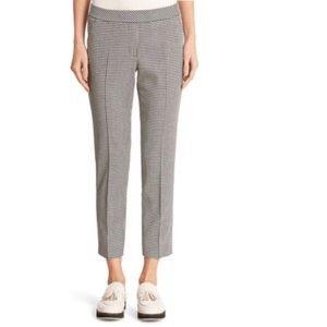 Akris punto grid textured pants